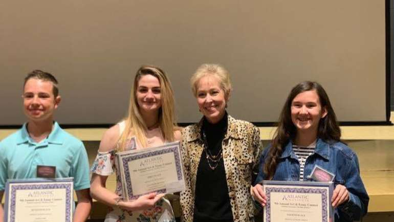 Oakbrook students win big honors from Atlantic Institute