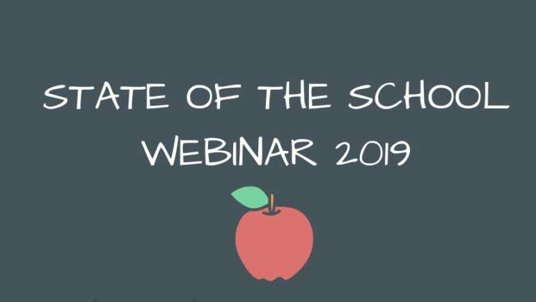 State of the School Webinar